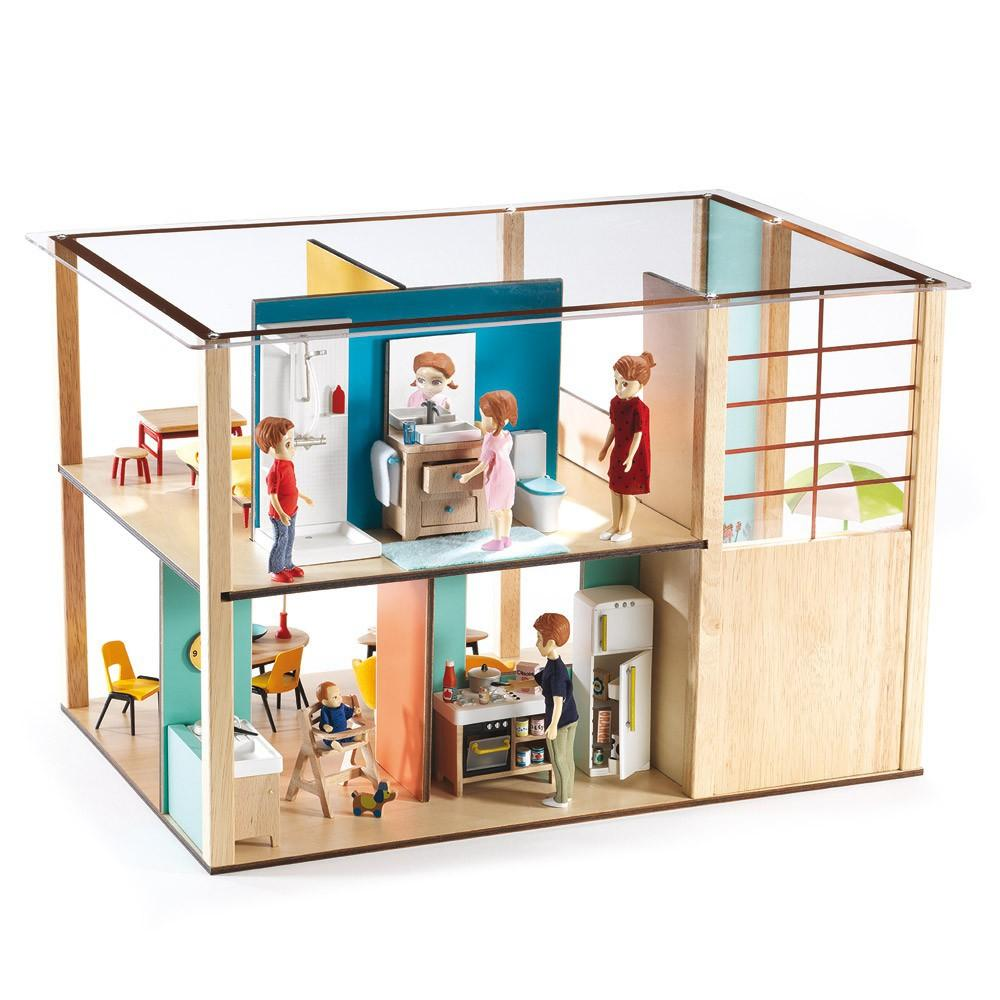 cubic-house-dolls-djeco best dollhouses