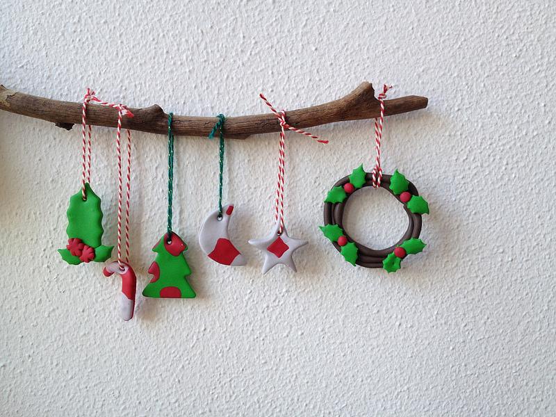 Polymer Clay Christmas Decorations.Christmas Diy With Polymer Clay Paul Paula