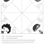 fortuneteller printable