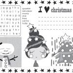 christmas activity free printable