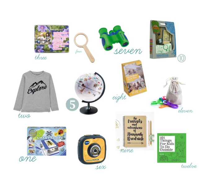 12 best gifts for Little Explorers