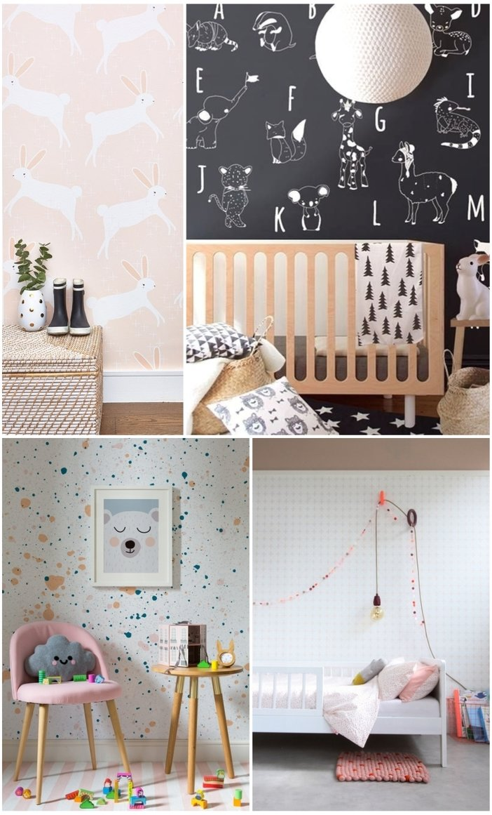 The best wallpapers for the kids room - Paul