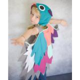 bird dress up gown