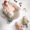 portable dolls bed
