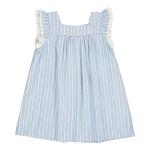 surat-striped-ruffle-dress