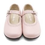 Pink Girls Buckle English Classics