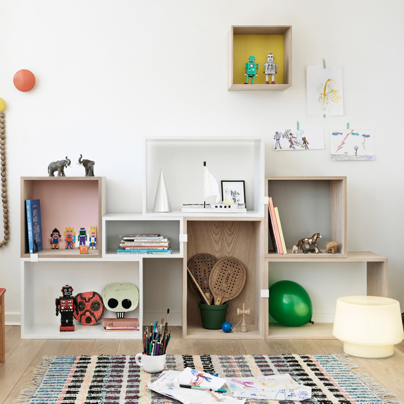 Box Shelves Kids Room