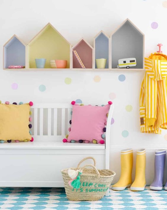 Pastel Colors Kids Room