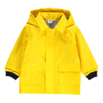 Petit Bateau Mata Hooded Duffle Coat Yellow