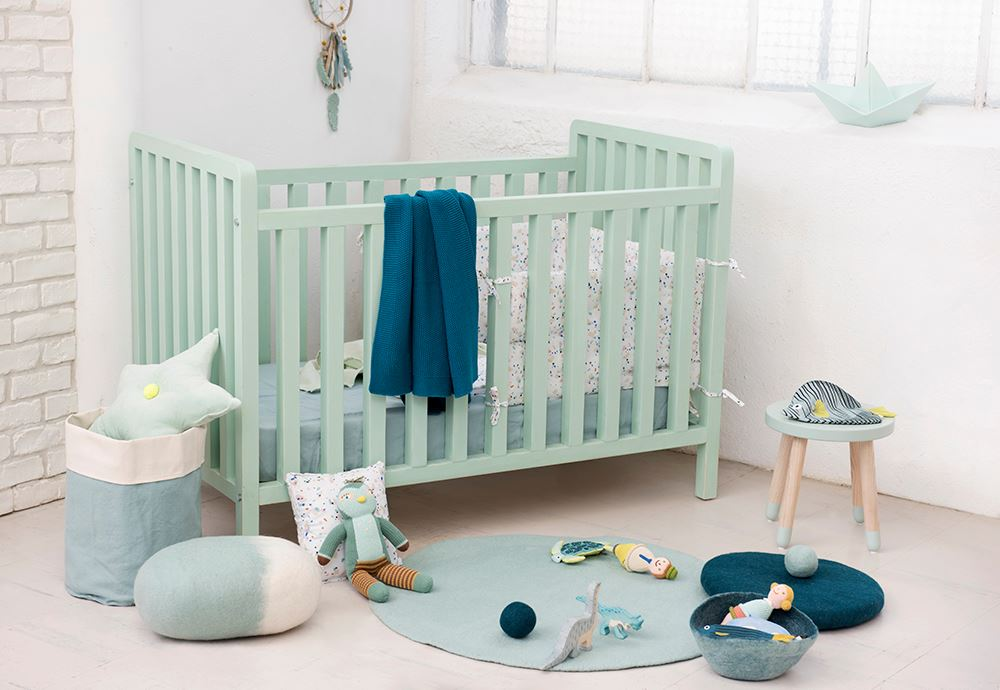 mint kids room