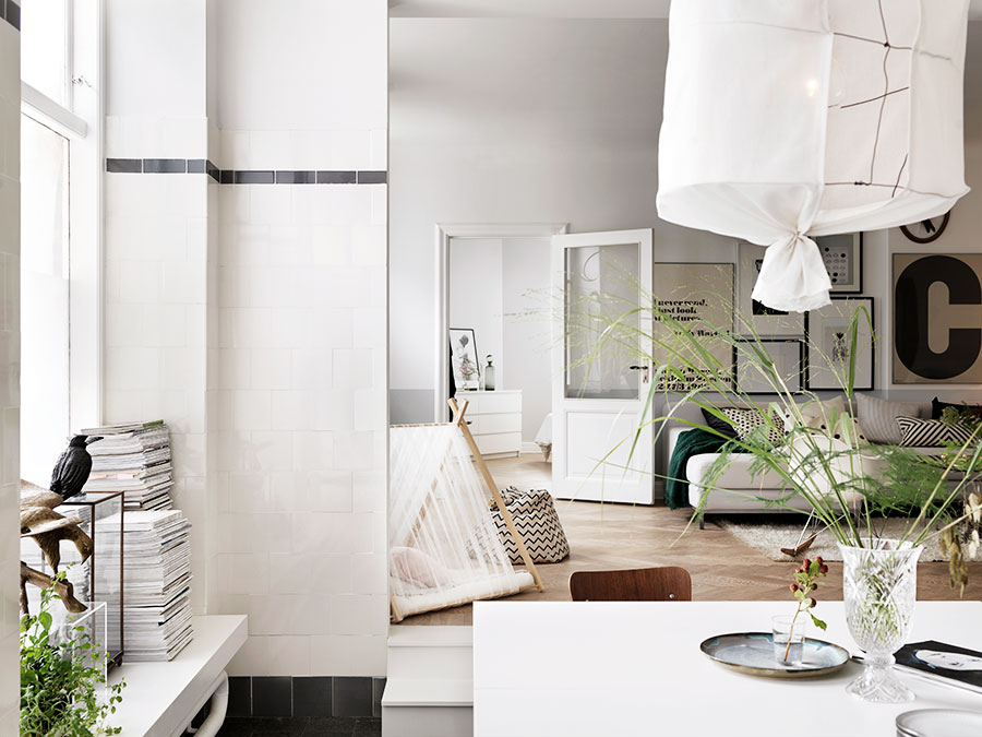 Bright family home in an old dairy shop