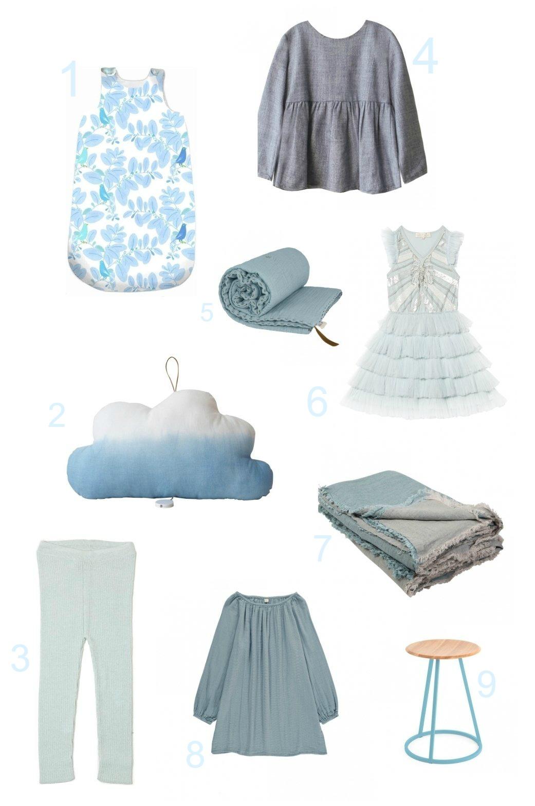 ice blue kids fashion