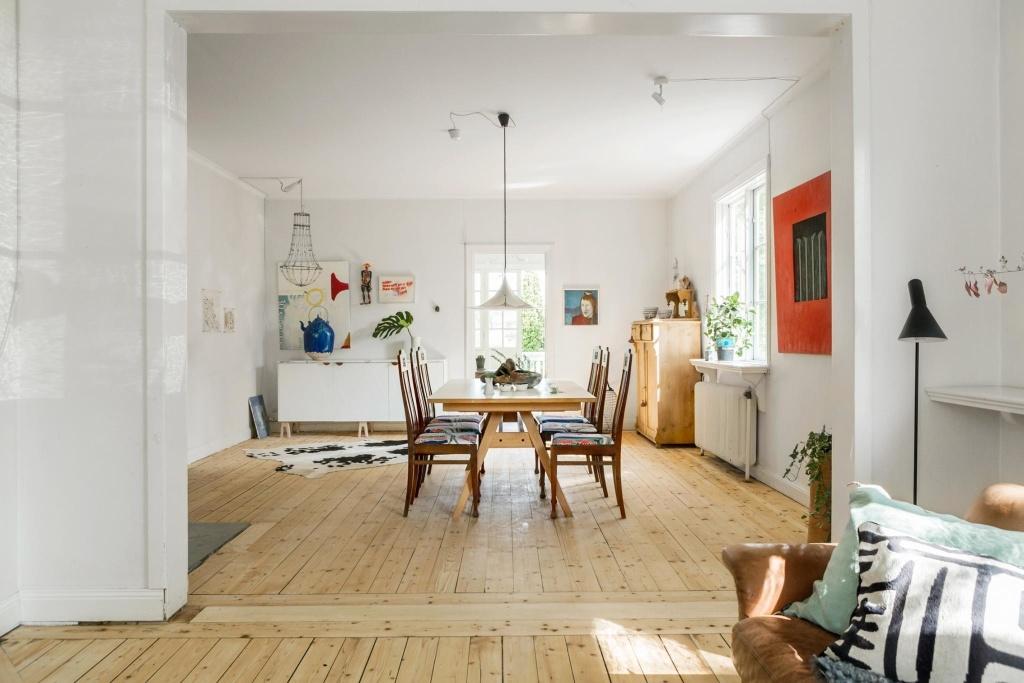 scandinavian family home