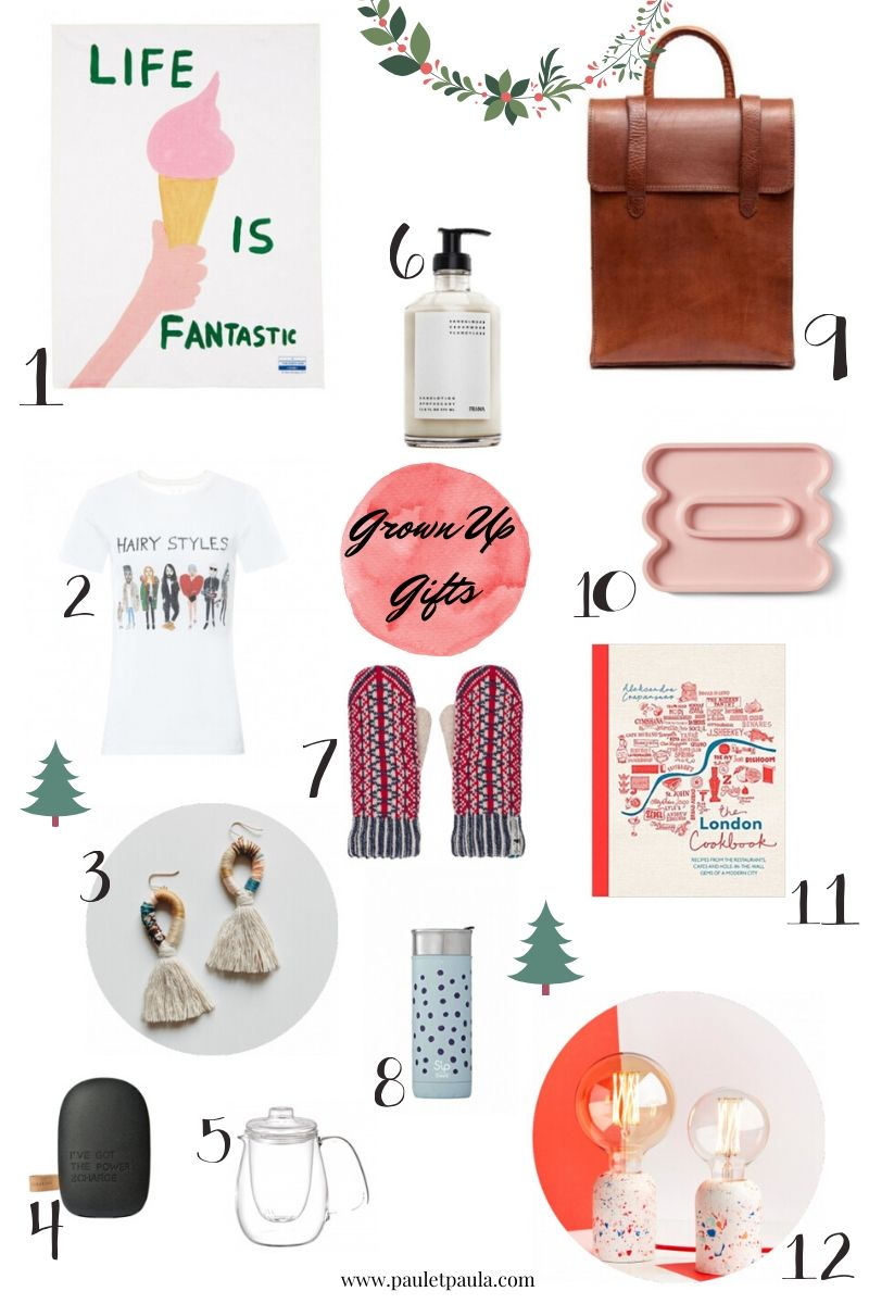Gift Guides 2019 – grown ups