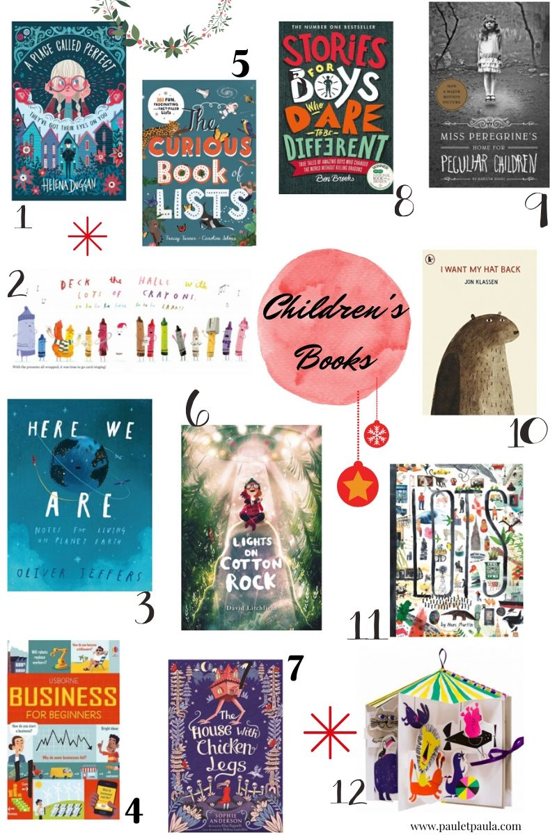 Gift Guides 2019 - children's books
