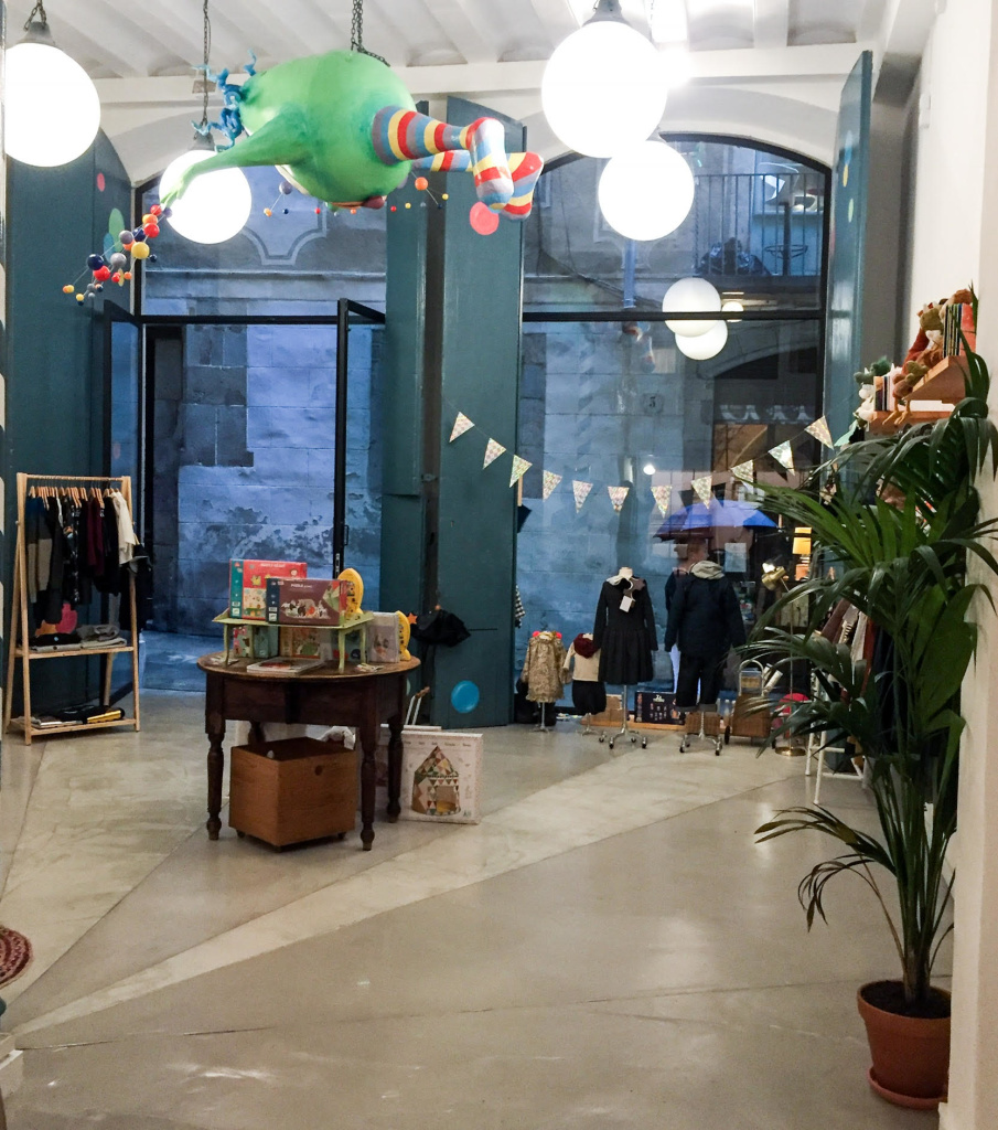 Konfetti Kids - new kids store in Barcelona