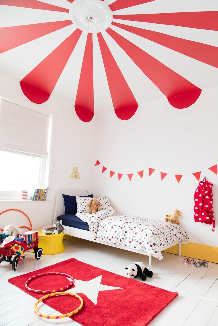 Fun kids rooms with a touch of red  sc 1 st  Paul et Paula & 5 fun kids rooms with a touch of red - Paul \u0026 Paula