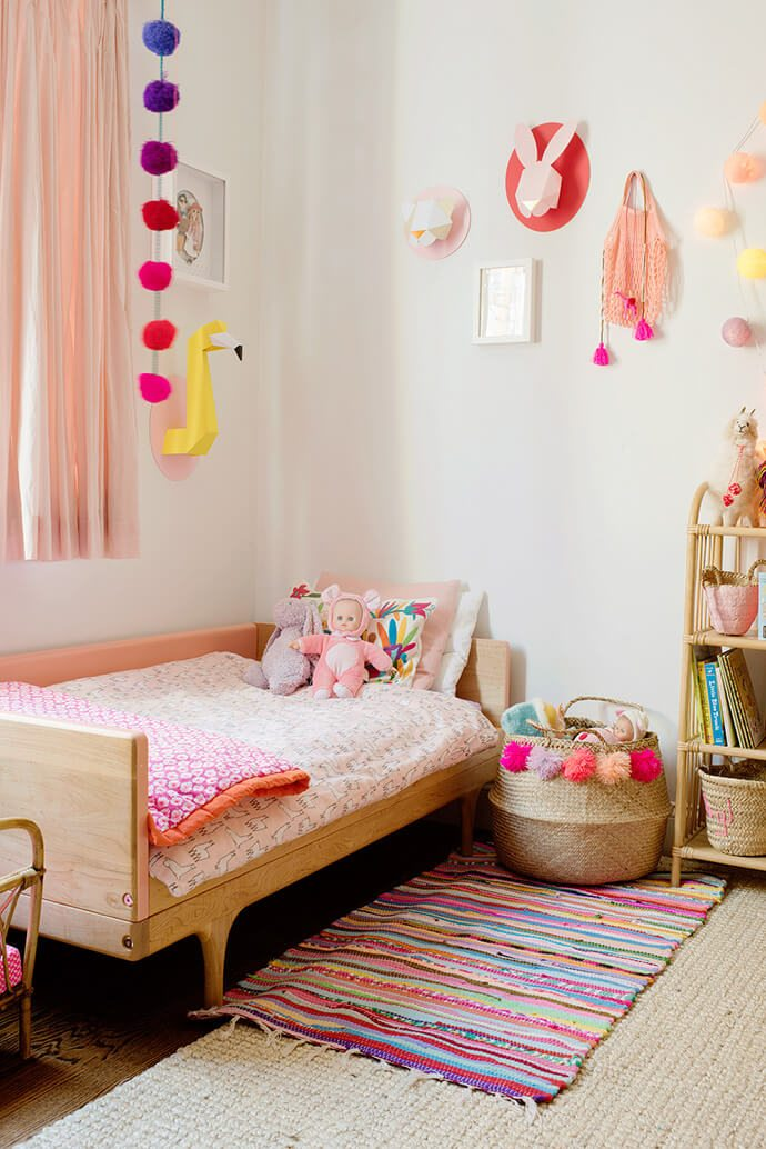 The colorful family home of Chloe Fleury