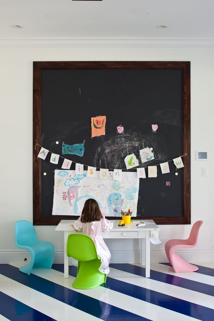 7 kids rooms with fun chalkboard walls