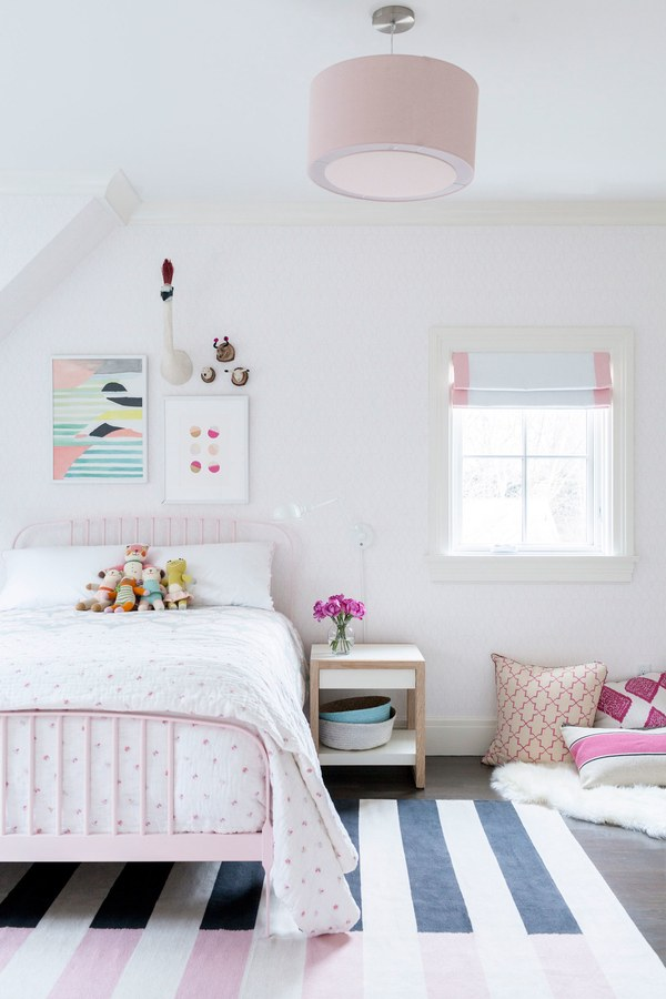 Colourful kids rooms