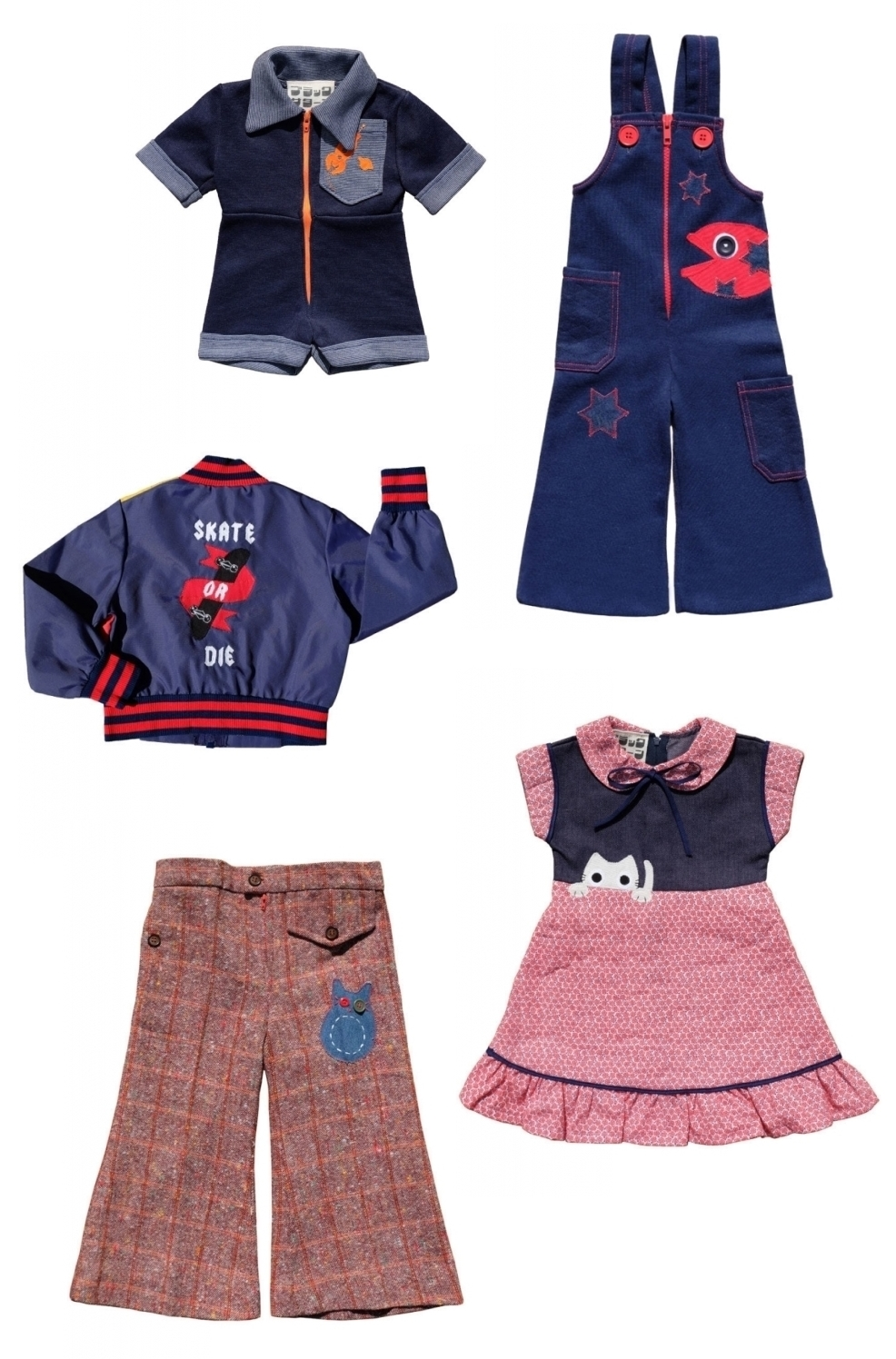 black saturn kids vintage clothes