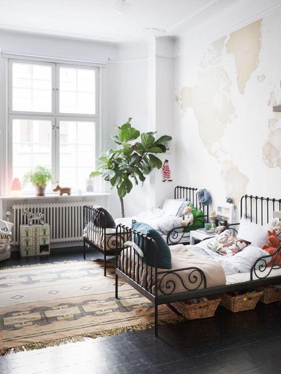 plants kids room