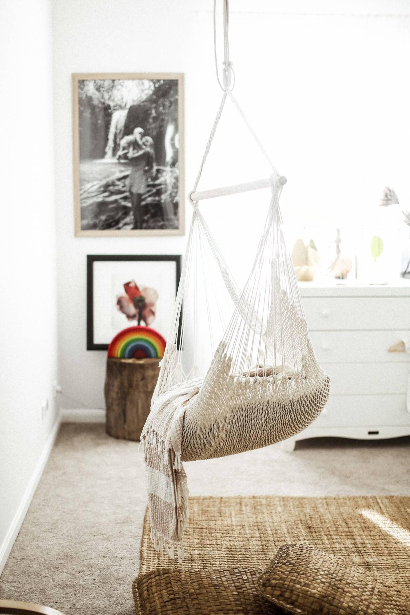 Baby Boy Room Grey: Cool Indoor Swings For The Kids Room
