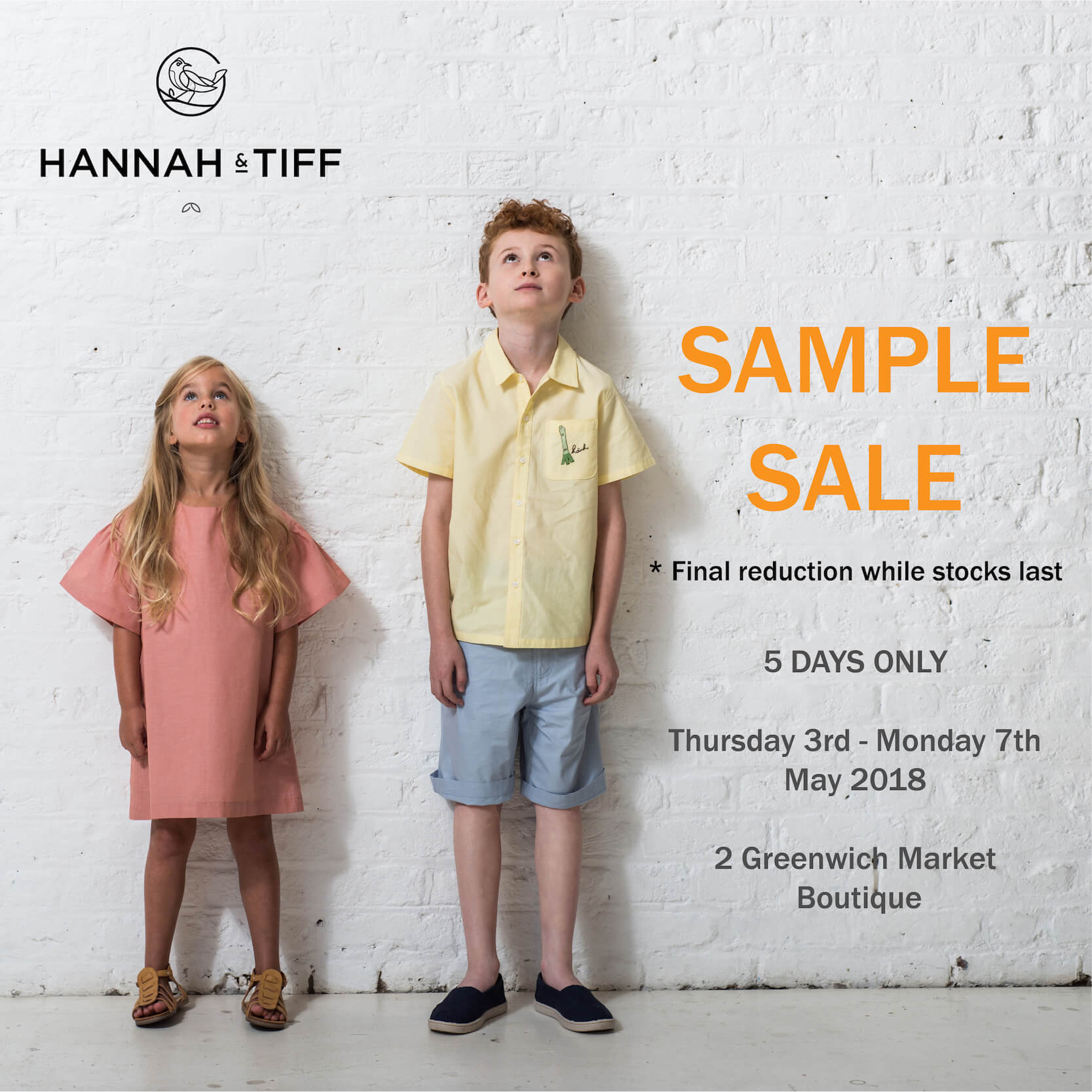 Hannah & Tiff S/S 2018