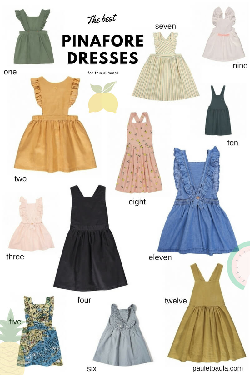 The best pinafore dresses for this summer