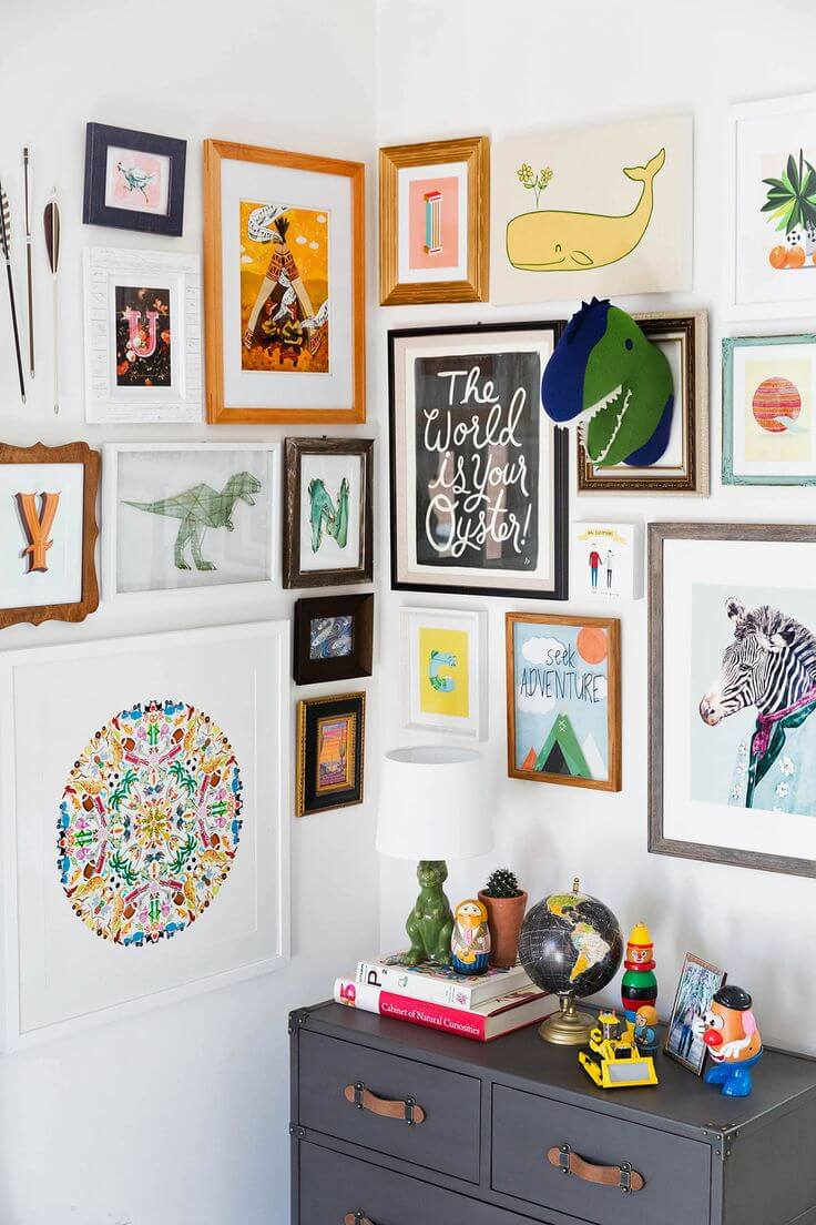 Kids Gallery Walls