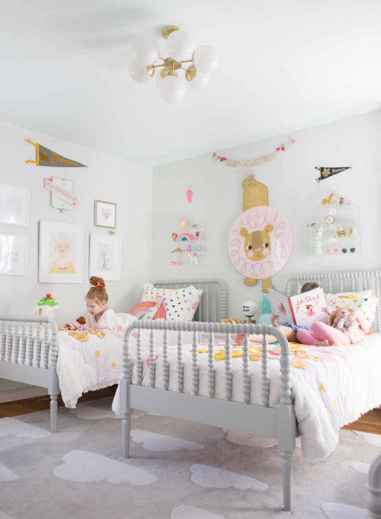 5 inspirational and cosy shared kids bedrooms - Paul & Paula