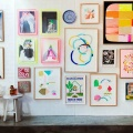wall gallery kids art