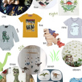Jurassic World inspired Dinosaur mood board for kids