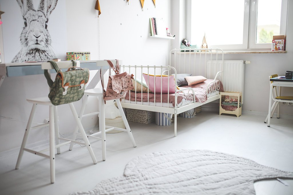 The beautiful kids rooms of Zoi, Bianca and Gaia