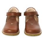 Mary Jane Shoes Cognac