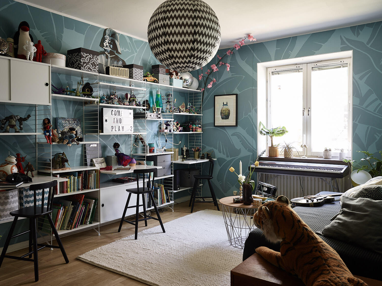 Smart family space in Stockholm's Södermalm district