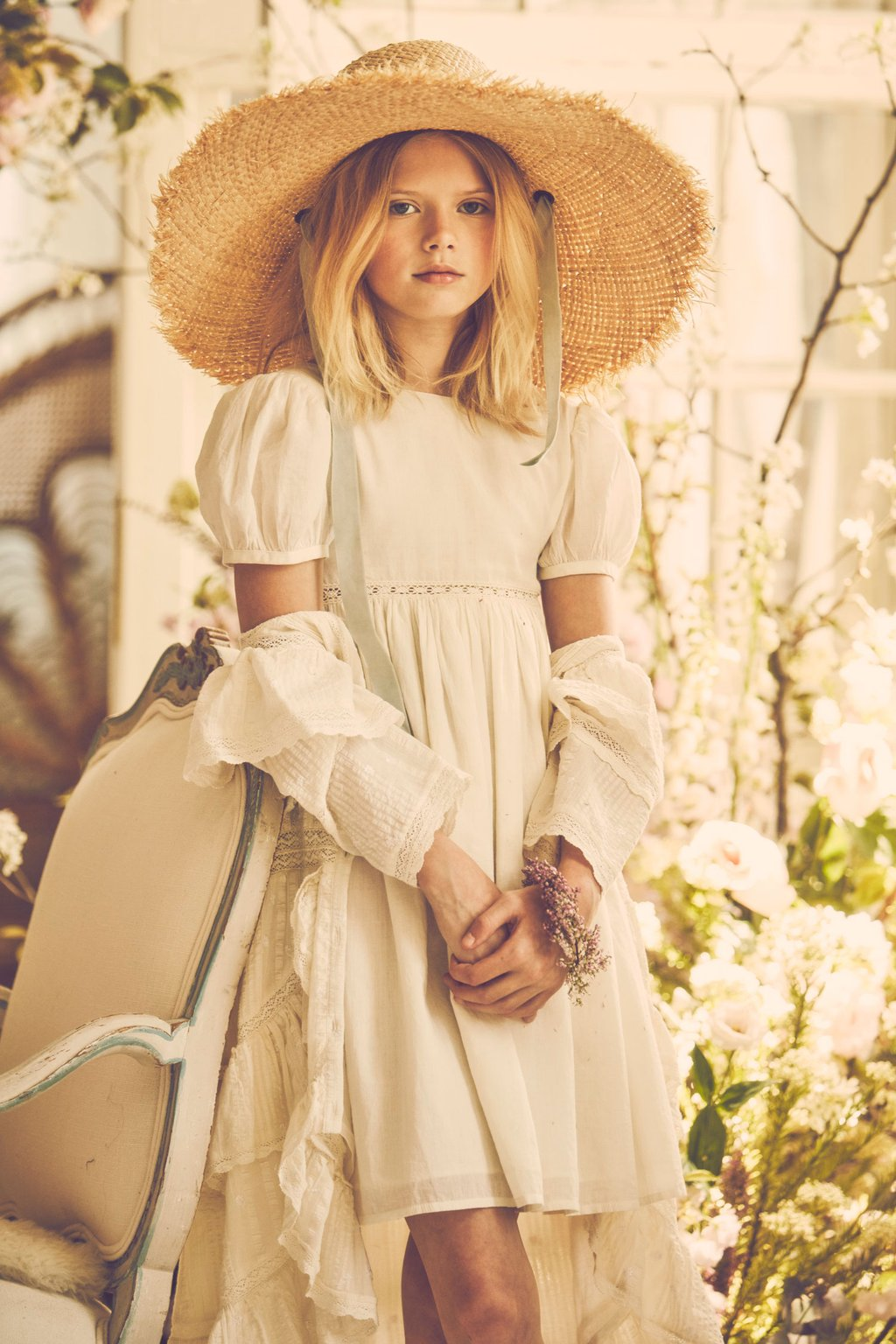little bridesmaid dresses from LoveShackFancy