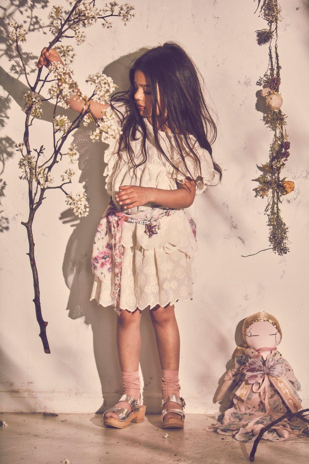 Paul & Paula: little bridesmaid dresses from LoveShackFancy