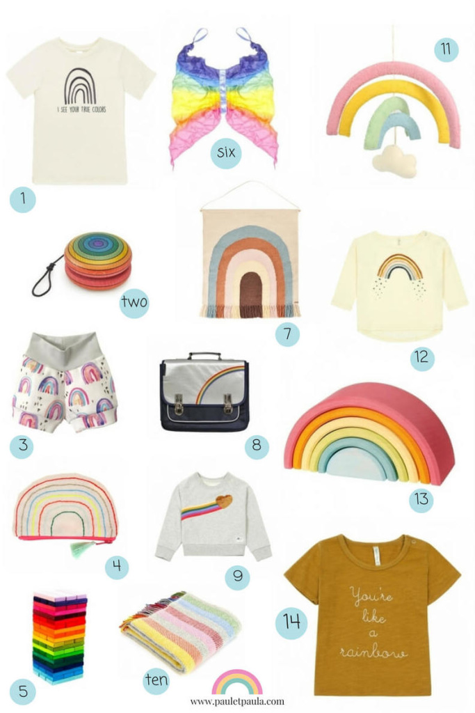 A world of rainbows for the little ones