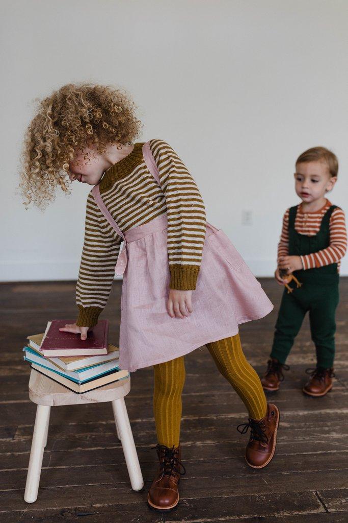 Paul & Paula: Beautiful fall linens for children by Fin & Vince