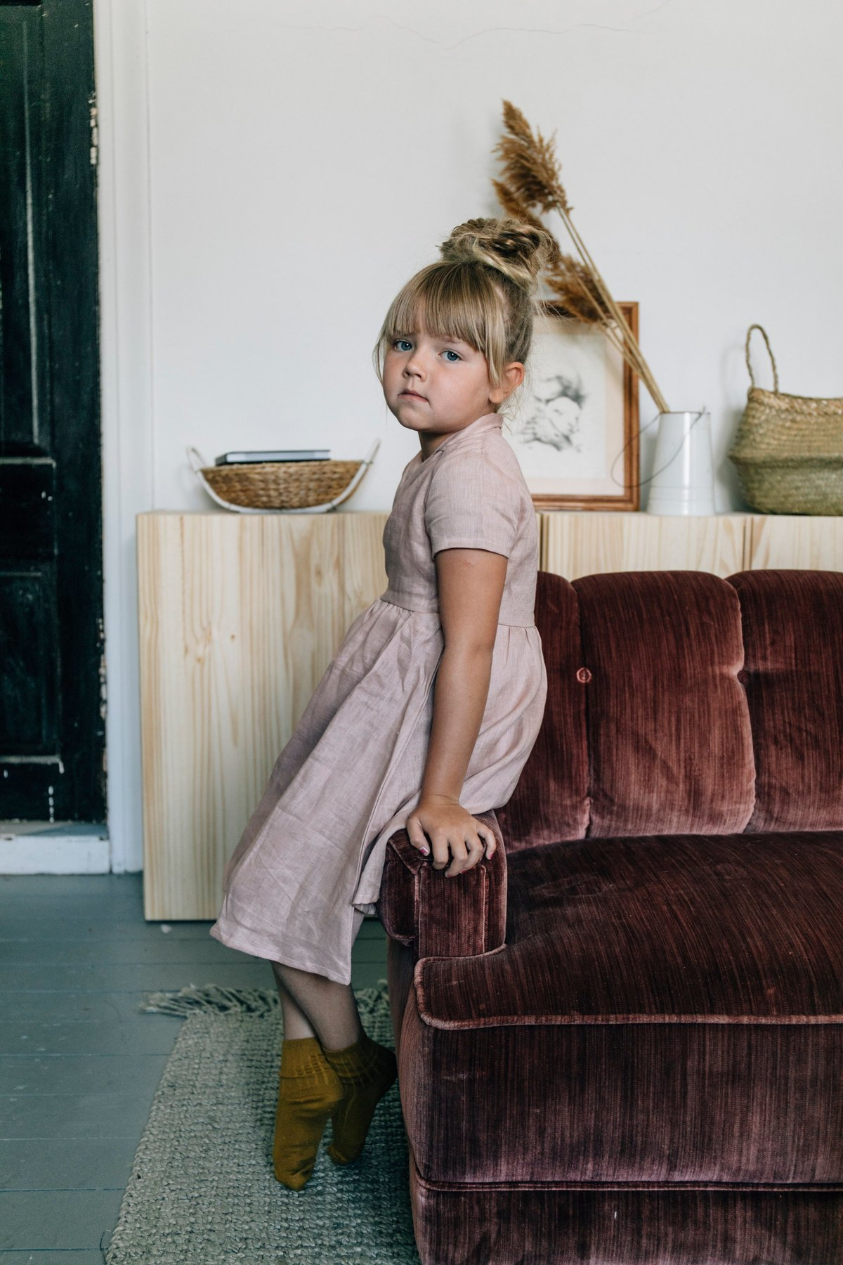 Paul & Paula: Beautiful fall linens for children by Fin & Vince