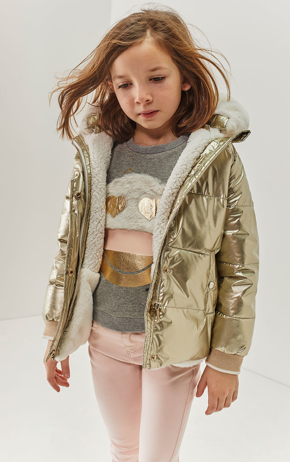 golden jacket for kids