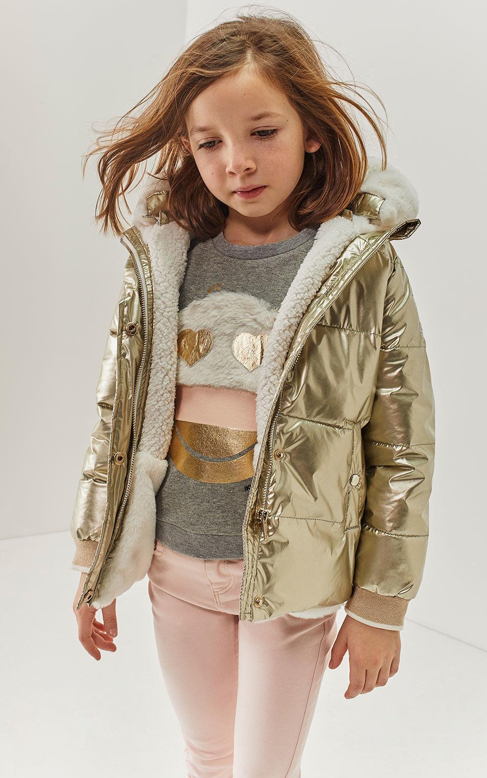 golden jacket for kids