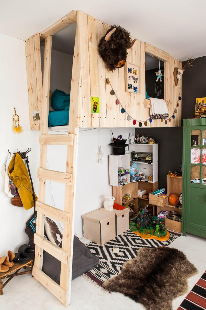 loft bed awesome playroom