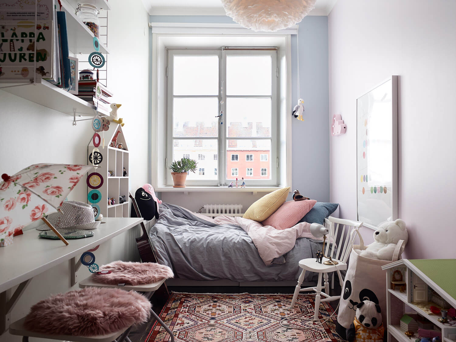 smart and small kids room
