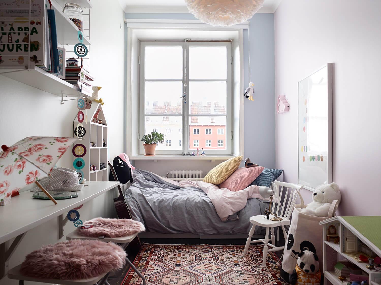 smart and small kids room