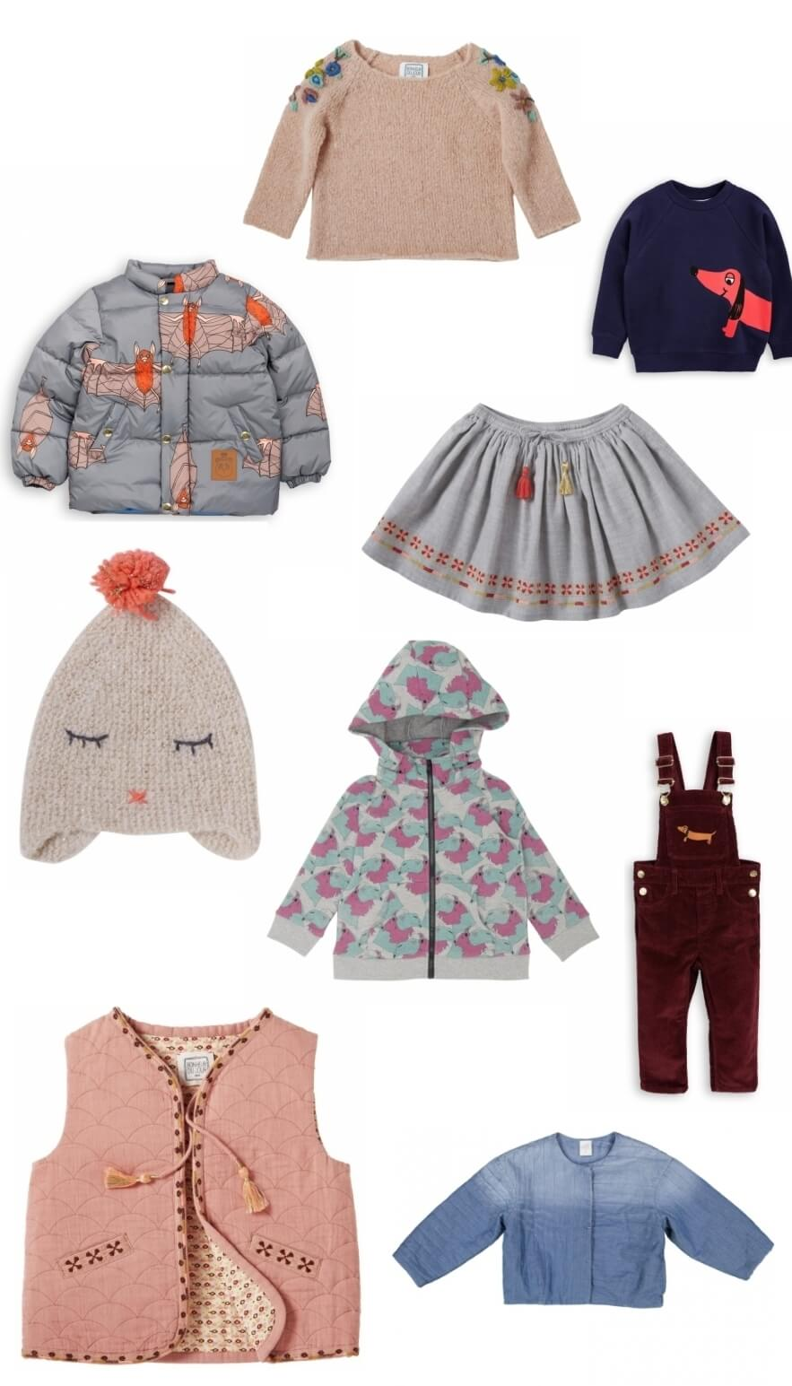 Curated previous seasons clothes for babies and children