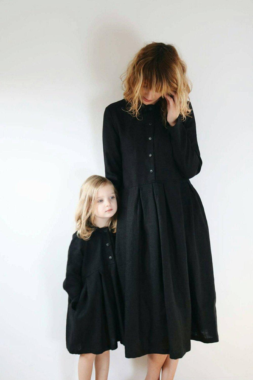 mum and daughter dress minime look