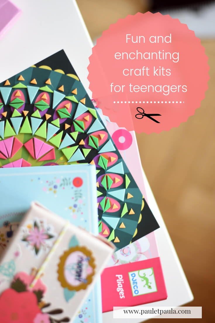 Fun and enchanting craft kits for teenagers
