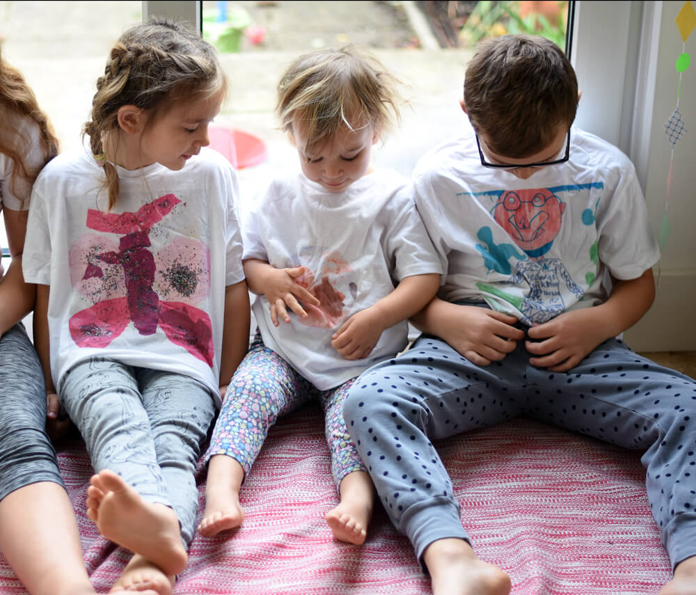 customised tshirts children